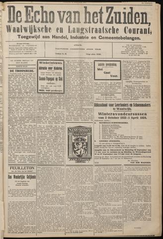 Echo van het Zuiden 1933-09-23