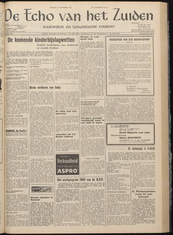 Echo van het Zuiden 1962-11-23