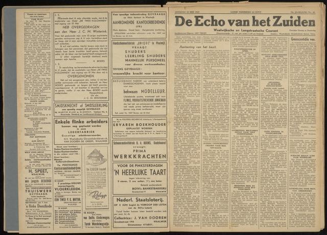 Echo van het Zuiden 1947-05-20
