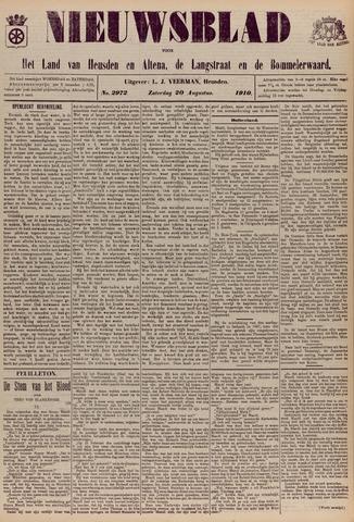 Nieuwsblad het land van Heusden en Altena de Langstraat en de Bommelerwaard 1910-08-20