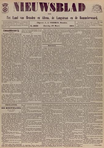 Nieuwsblad het land van Heusden en Altena de Langstraat en de Bommelerwaard 1911-03-18
