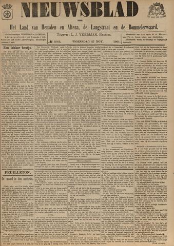 Nieuwsblad het land van Heusden en Altena de Langstraat en de Bommelerwaard 1901-11-27