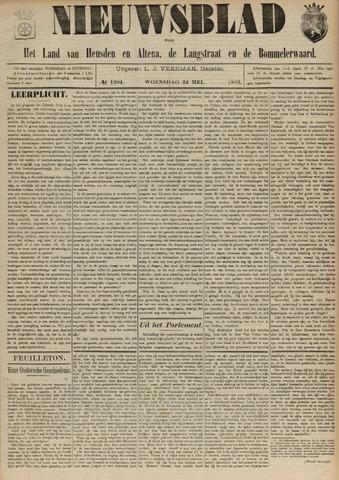 Nieuwsblad het land van Heusden en Altena de Langstraat en de Bommelerwaard 1893-05-24