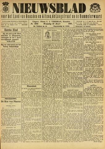 Nieuwsblad het land van Heusden en Altena de Langstraat en de Bommelerwaard 1927-03-23