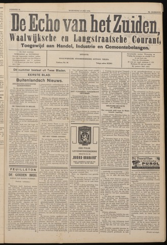 Echo van het Zuiden 1936-07-22