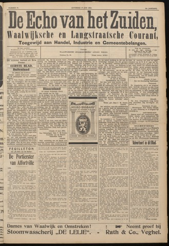 Echo van het Zuiden 1922-06-17
