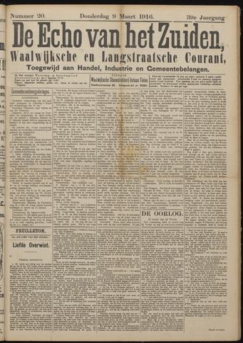 Echo van het Zuiden 1916-03-09