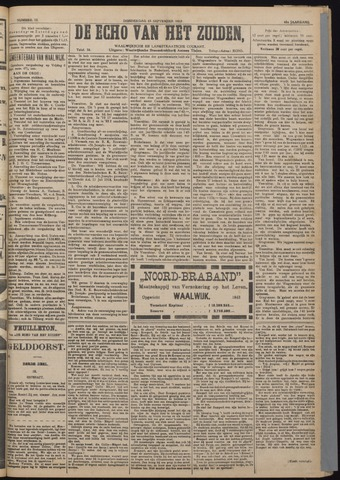 Echo van het Zuiden 1918-09-12
