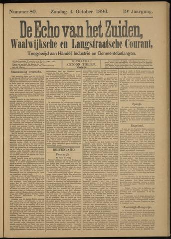 Echo van het Zuiden 1896-10-04