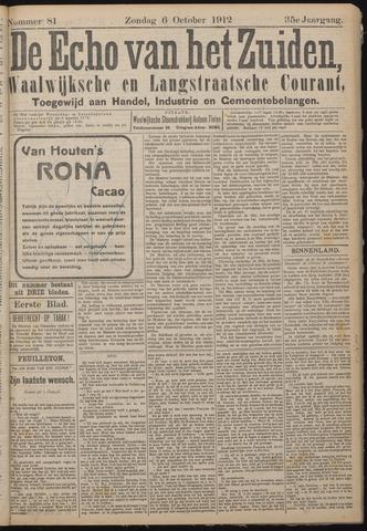 Echo van het Zuiden 1912-10-06