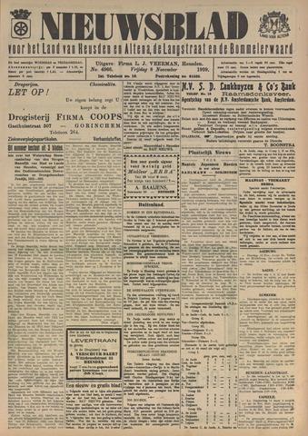 Nieuwsblad het land van Heusden en Altena de Langstraat en de Bommelerwaard 1929-11-08