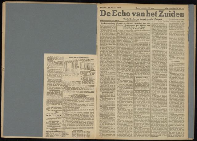 Echo van het Zuiden 1946-03-15