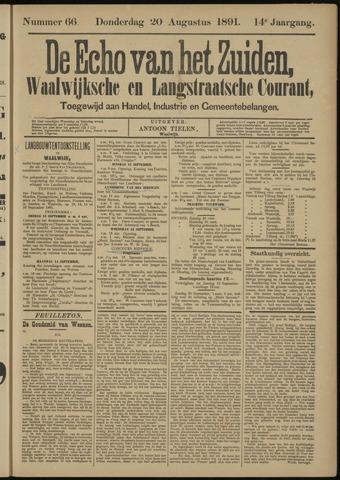 Echo van het Zuiden 1891-08-20