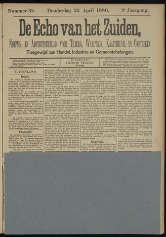 Echo van het Zuiden 1886-04-22
