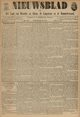 Nieuwsblad het land van Heusden en Altena de Langstraat en de Bommelerwaard 1895-01-30