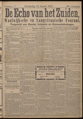Echo van het Zuiden 1917-01-25