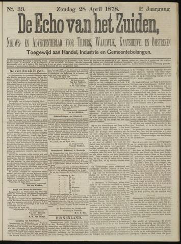 Echo van het Zuiden 1878-04-28