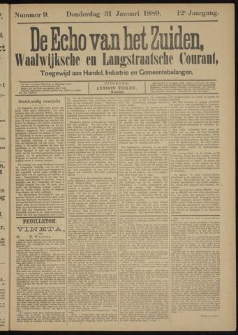 Echo van het Zuiden 1889-01-31