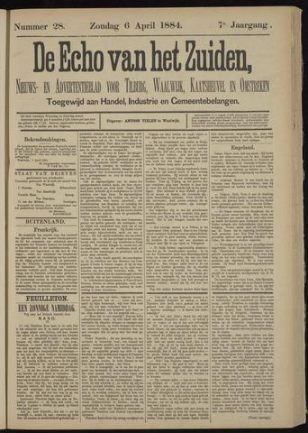 Echo van het Zuiden 1884-04-06