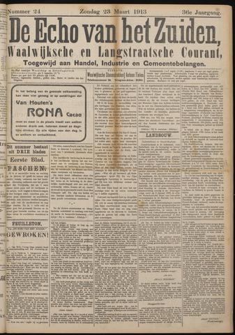 Echo van het Zuiden 1913-03-23