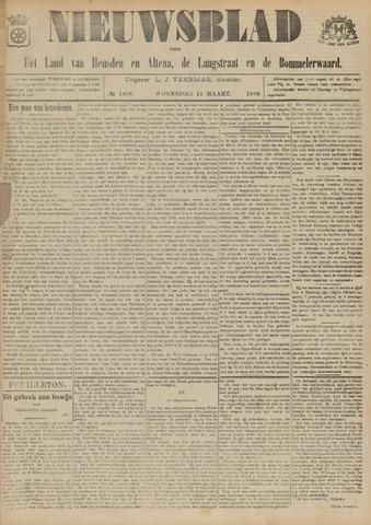 Nieuwsblad het land van Heusden en Altena de Langstraat en de Bommelerwaard 1896-03-11