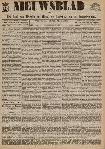 Nieuwsblad het land van Heusden en Altena de Langstraat en de Bommelerwaard 1900-09-01
