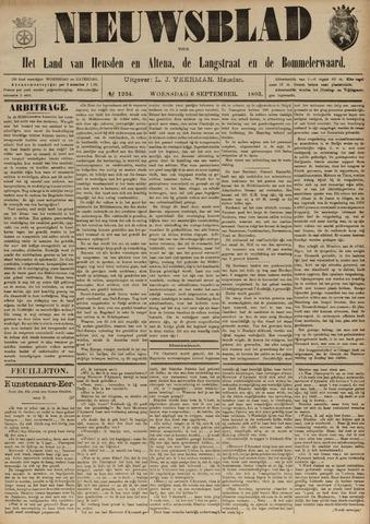 Nieuwsblad het land van Heusden en Altena de Langstraat en de Bommelerwaard 1893-09-06