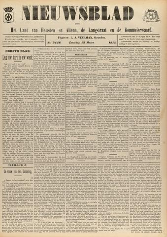 Nieuwsblad het land van Heusden en Altena de Langstraat en de Bommelerwaard 1915-03-13