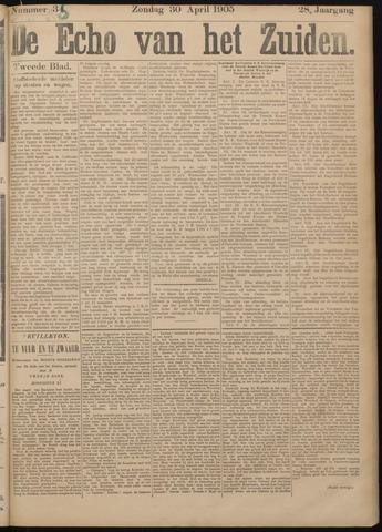 Echo van het Zuiden 1905-04-30