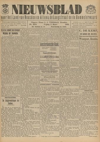 Nieuwsblad het land van Heusden en Altena de Langstraat en de Bommelerwaard 1923-03-02