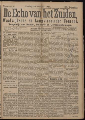 Echo van het Zuiden 1916-10-29