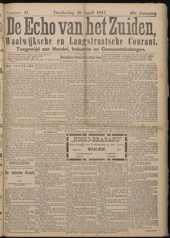 Echo van het Zuiden 1917-04-19