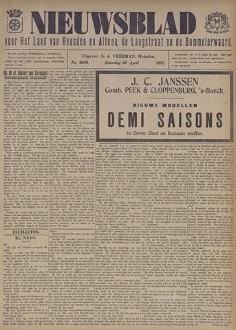 Nieuwsblad het land van Heusden en Altena de Langstraat en de Bommelerwaard 1917-04-28