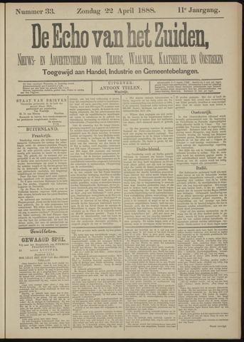 Echo van het Zuiden 1888-04-22