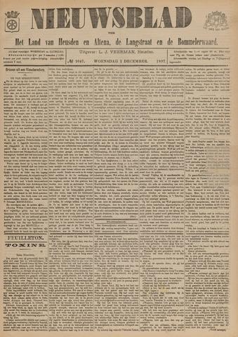 Nieuwsblad het land van Heusden en Altena de Langstraat en de Bommelerwaard 1897-12-01