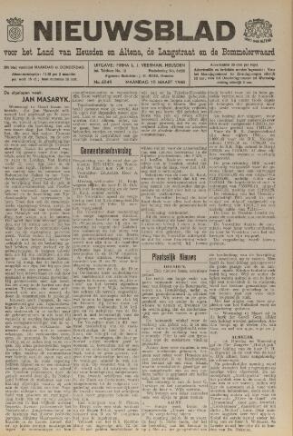 Nieuwsblad het land van Heusden en Altena de Langstraat en de Bommelerwaard 1948-03-15