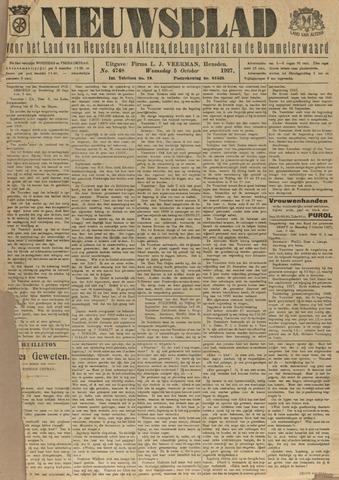 Nieuwsblad het land van Heusden en Altena de Langstraat en de Bommelerwaard 1927-10-05