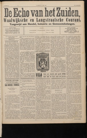 Echo van het Zuiden 1934-05-19