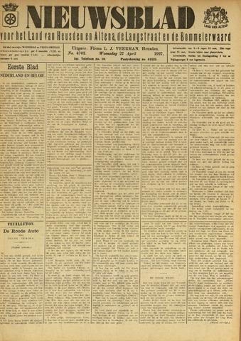 Nieuwsblad het land van Heusden en Altena de Langstraat en de Bommelerwaard 1927-04-27