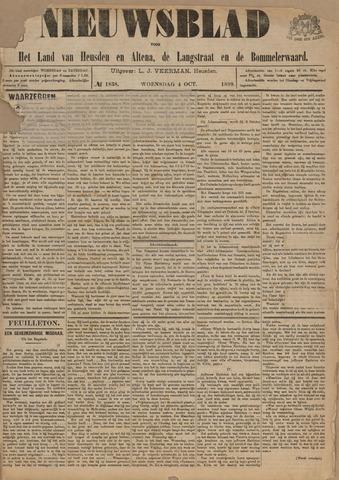 Nieuwsblad het land van Heusden en Altena de Langstraat en de Bommelerwaard 1899-10-04