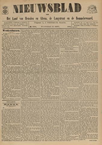 Nieuwsblad het land van Heusden en Altena de Langstraat en de Bommelerwaard 1904-09-21