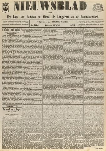 Nieuwsblad het land van Heusden en Altena de Langstraat en de Bommelerwaard 1913-07-12