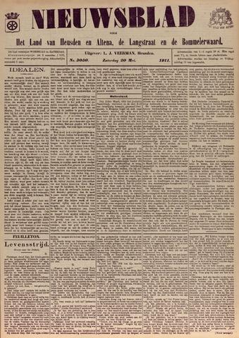 Nieuwsblad het land van Heusden en Altena de Langstraat en de Bommelerwaard 1911-05-20