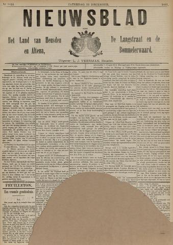 Nieuwsblad het land van Heusden en Altena de Langstraat en de Bommelerwaard 1891-12-12