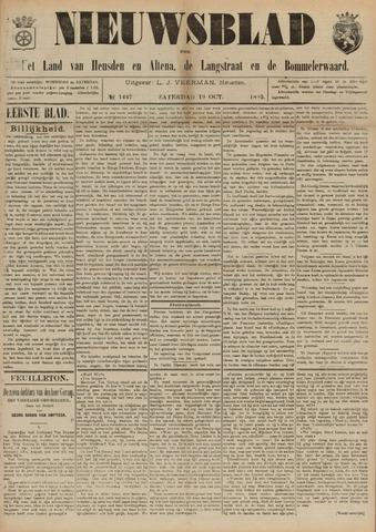 Nieuwsblad het land van Heusden en Altena de Langstraat en de Bommelerwaard 1895-10-19