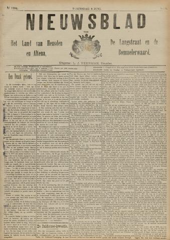 Nieuwsblad het land van Heusden en Altena de Langstraat en de Bommelerwaard 1892-06-08