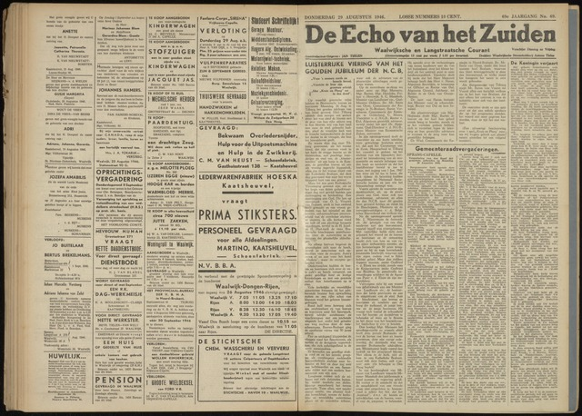 Echo van het Zuiden 1946-08-29