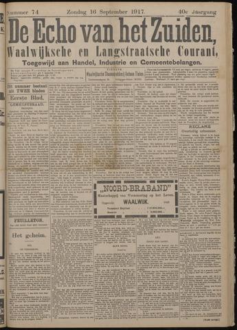 Echo van het Zuiden 1917-09-16