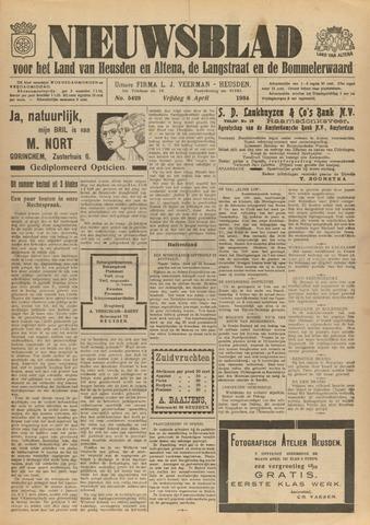 Nieuwsblad het land van Heusden en Altena de Langstraat en de Bommelerwaard 1934-04-06