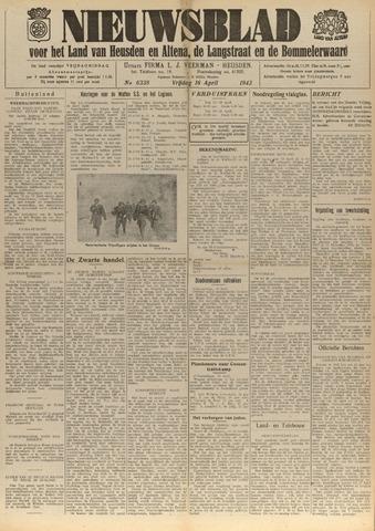 Nieuwsblad het land van Heusden en Altena de Langstraat en de Bommelerwaard 1943-04-16